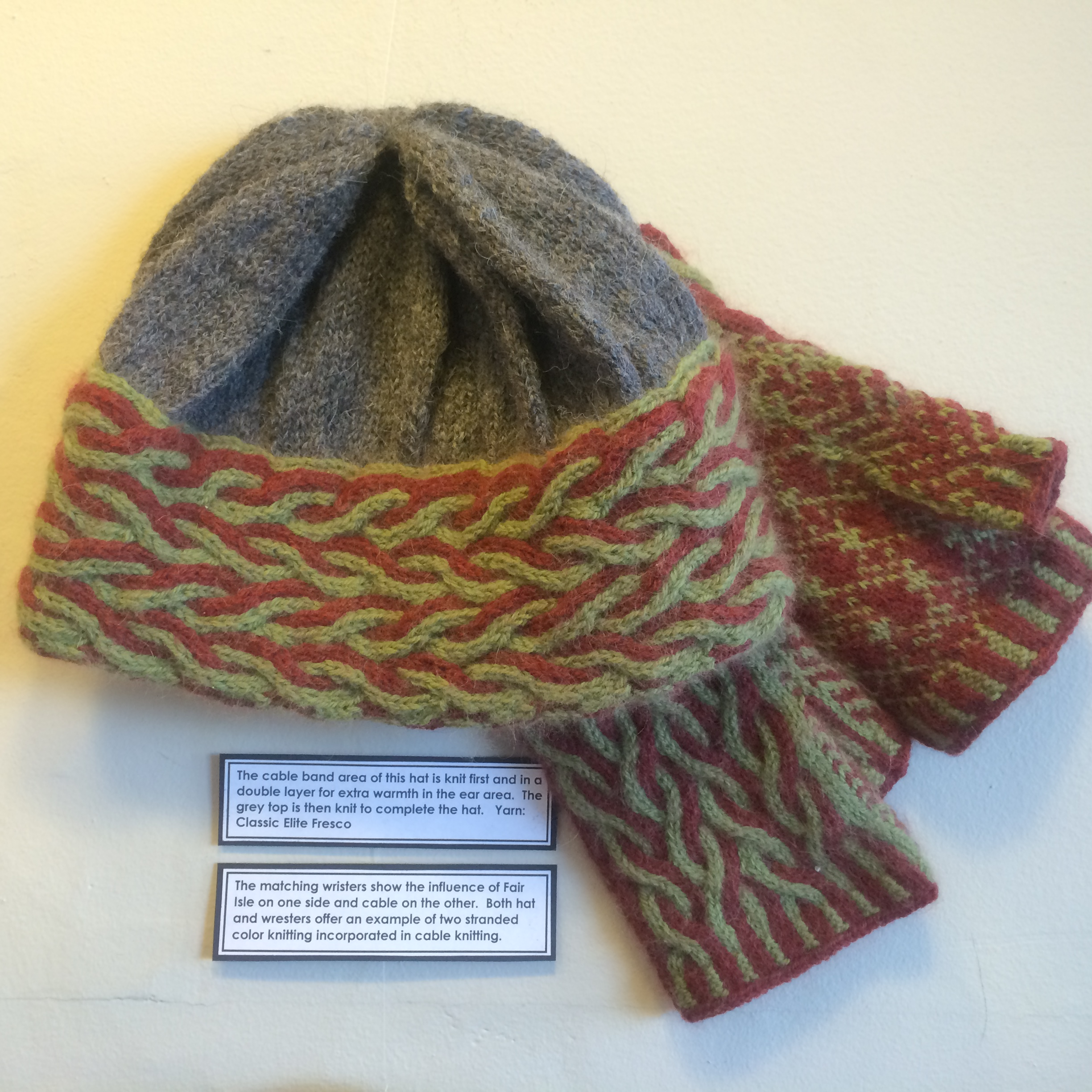 Knitting Brioche Stitch Hat : Latvian Mittens and ?No Knitting Police? Ingebretsens Knits