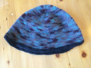 Renata's blue hat