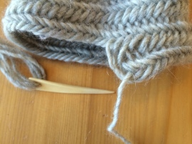 Sock in progress 2